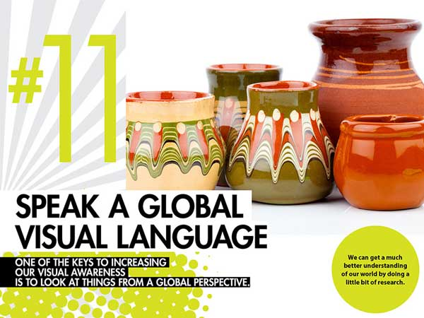 #11 – Speak a Global Visual Language