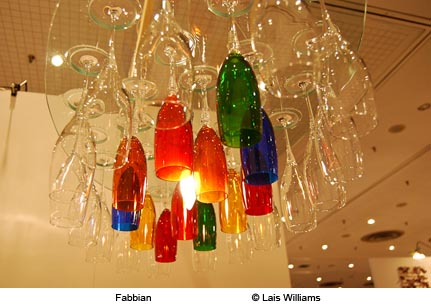 Wineglass Chandelier by Fabbian