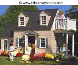 Lilliput Cotton Candy Manor playhouse