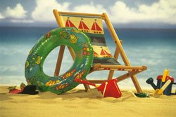 Tips on Decorating Children`s Rooms — Storing those Beach Toys!