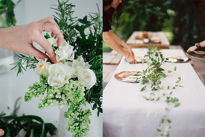 Floral Design for Dinner Parties