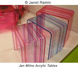 Jan Milne Acrylic Tables