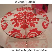 Jan Milne Floral Table
