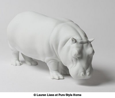 Hippo photo by Lauren Liess at Pure Style Home