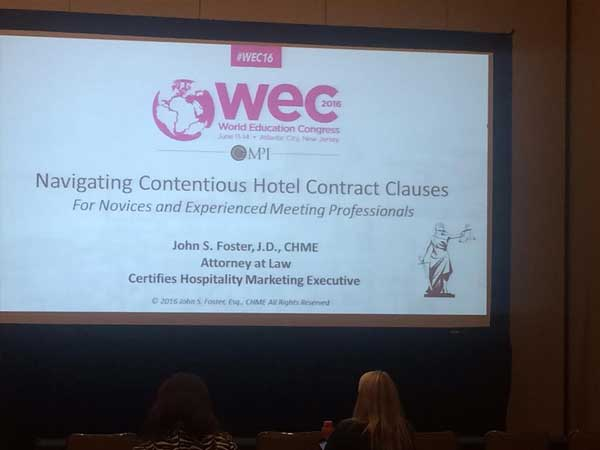 Inside the 2016 MPI WEC Conference