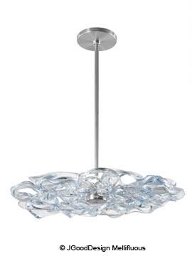Jeffrey Goodman of JGoodDesign's Mellifluous Chandelier