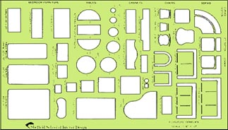 Superbe The NYIAD Furniture Template, Which You Will Find In Your Furniture Plan  Kit, Does The Drawing For You.