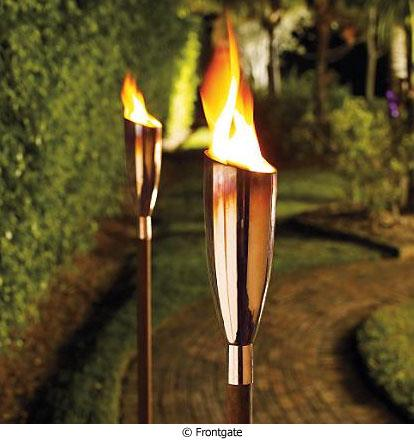 Nyiad design articles outdoor lighting for Antorchas jardin