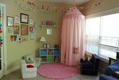 Look of the Week: Playroom Reading Nook