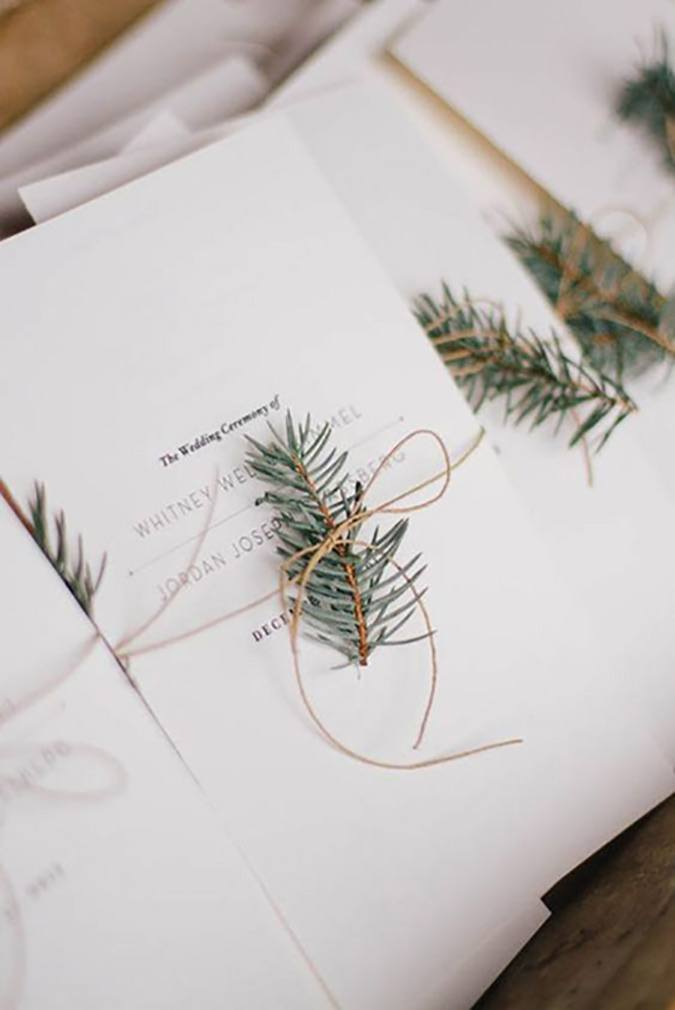 Our Favorite Winter Wedding Trends