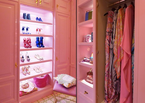 Lady Penelope's Dressing Room, Christopher Peacock, photo by Janet Ramin