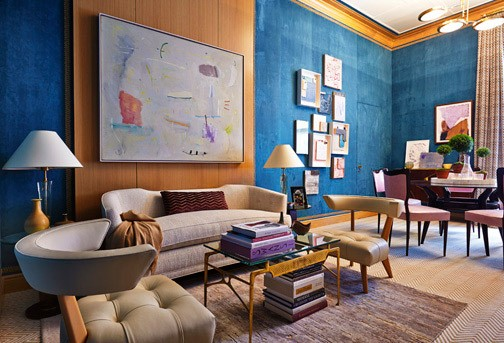 Lady's Lair, Gideon Mendelson, photo courtesy of Kips Bay Decorator Show House
