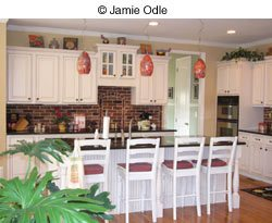 JaJamie Odle kitchen interior