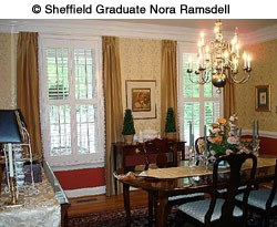 Nora Ramsdell Dining Room design