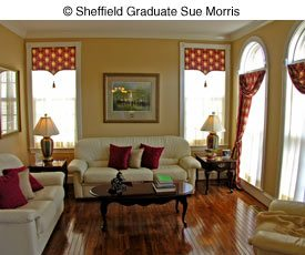 interior design by Sue Morris