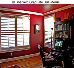 Sue Morris office design