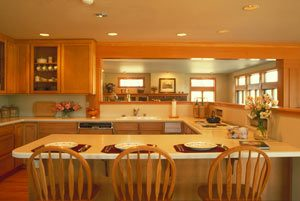 Room of the Month - Blonde Wood Kitchen Design