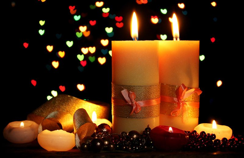 Valentines Day Candles