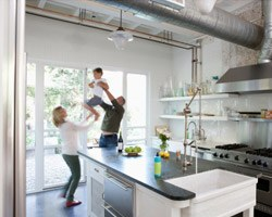 Industrial Design Takes Over the Family Home