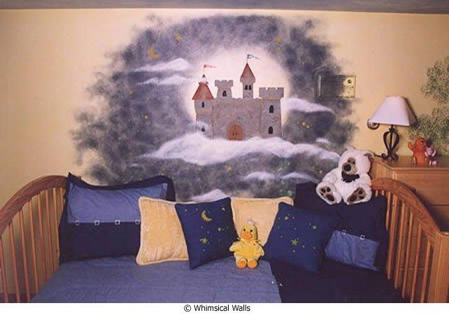 Tips on Decorating Children`s Rooms — Stencils for Spring Design